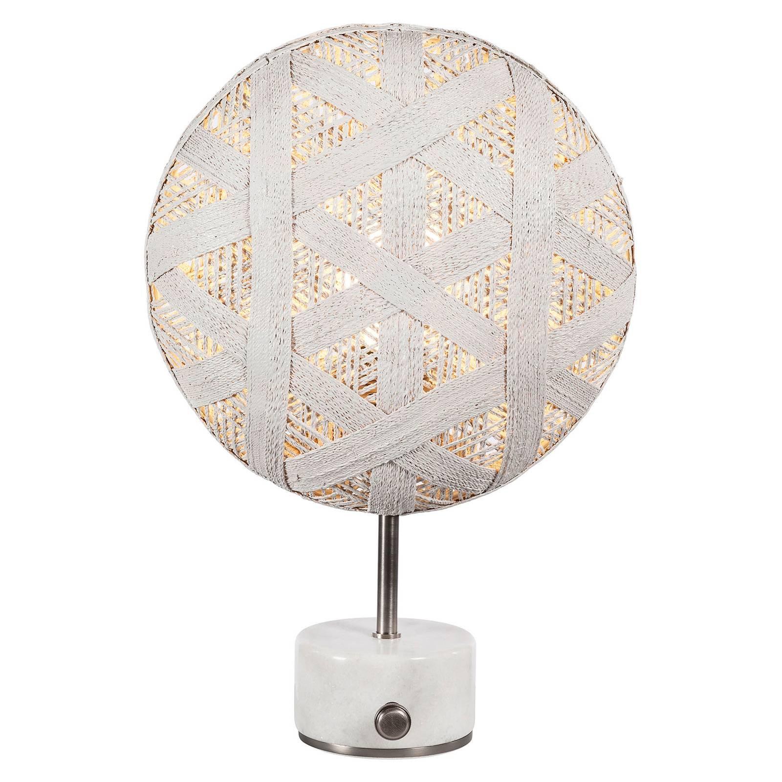 Forestier Chanpen S heksagonal bord, sølv/hvit