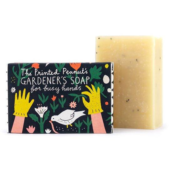 The Printed Peanut Natural Handmade Gardener's Soap Bar, 95 g