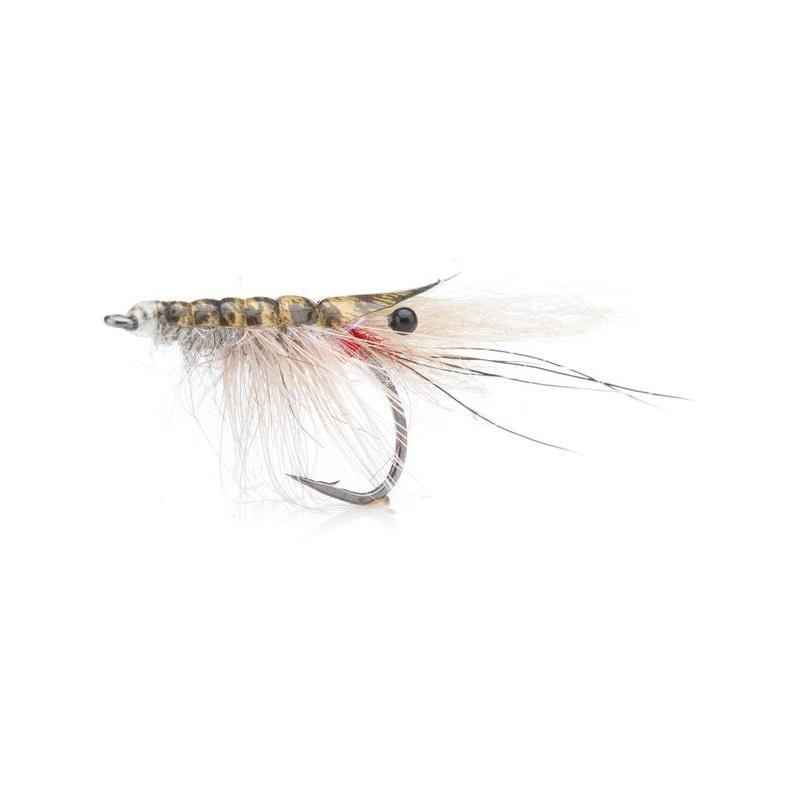 John Shrimp Grey # 4 Kjøp 12 fluer få gratis flueboks