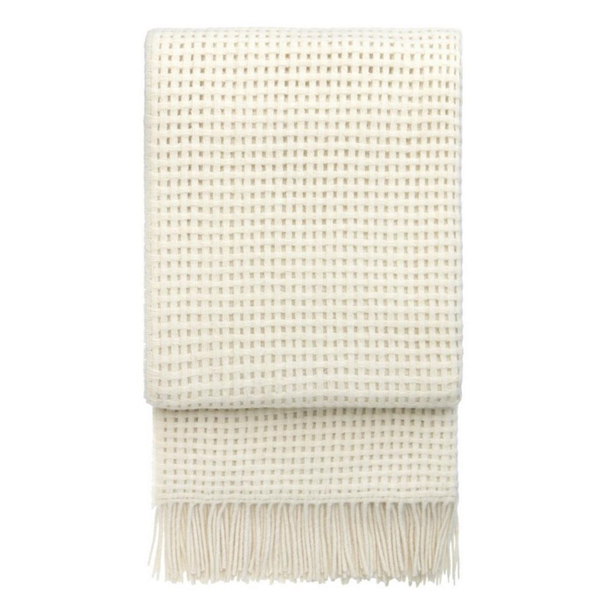 ELVANG Pläd Basket Off white