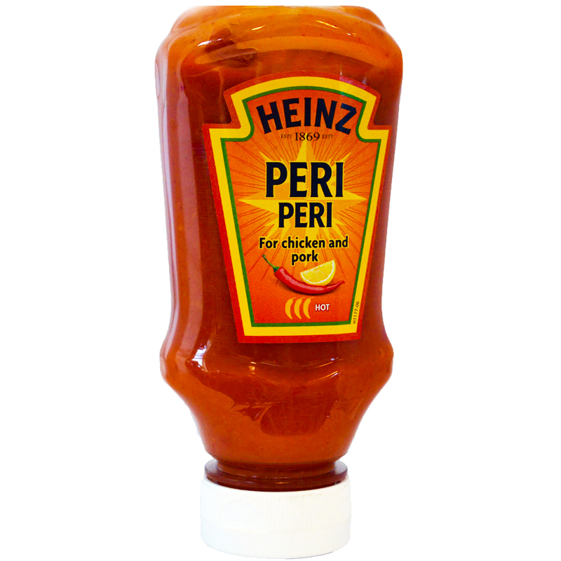 "Chilisås ""Peri Peri"" 220ml - 95% rabatt"