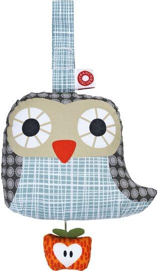 Franck & Fischer Owl Spilledåse, Grey