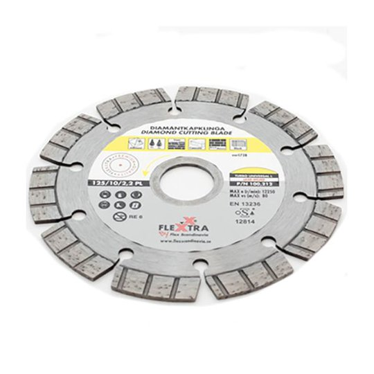 Flexxtra 100212 Timanttiterä 125 mm