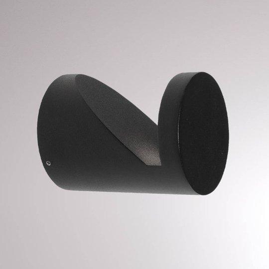 LOUM Booper utendørs LED-vegglampe matt antrasitt