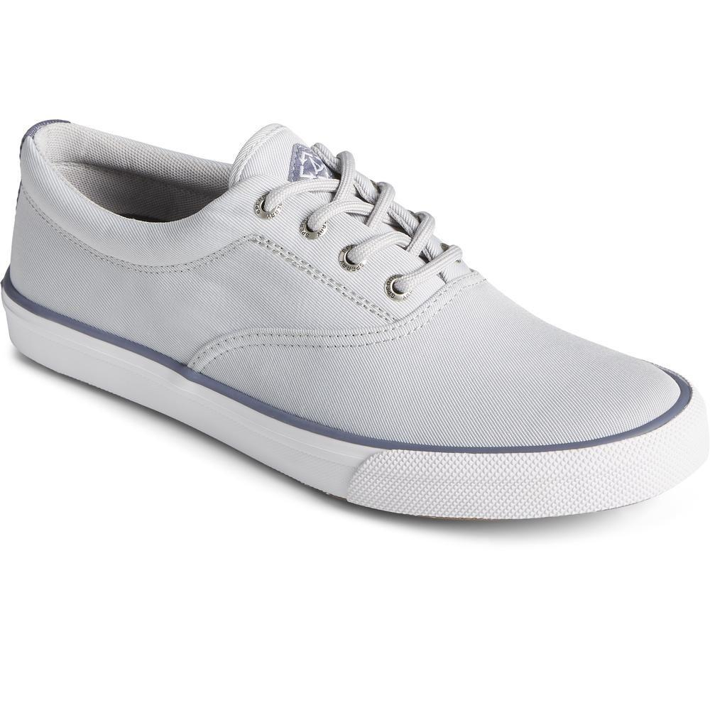 Sperry Men's Striper II Sustainable Lace Trainer Various Colours 32933 - Grey 7