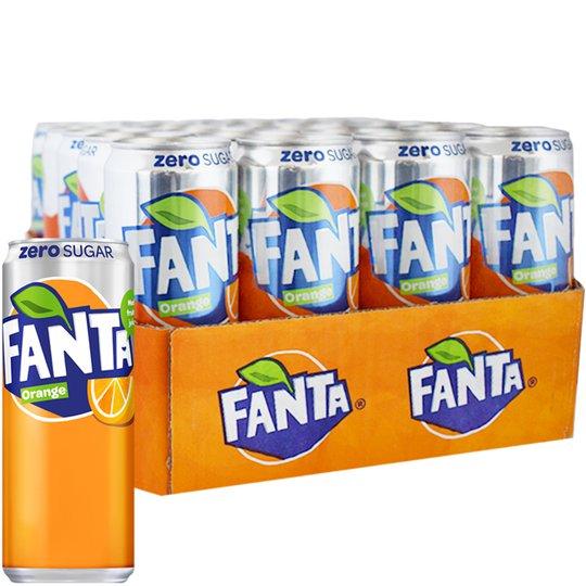 Fanta Orange Zero 20-pack - 36% rabatt