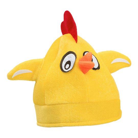 Hatt Gul Kyckling - One size