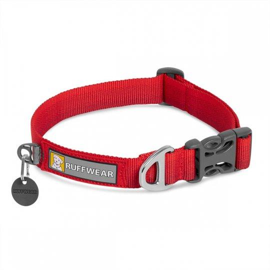 RuffWear Front Range Hundhalsband Röd (28-36 cm)