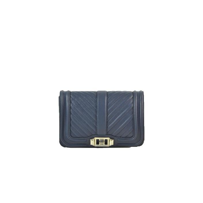 Rebecca Minkoff Women's Clutch Bag Blue 230885 - blue UNICA