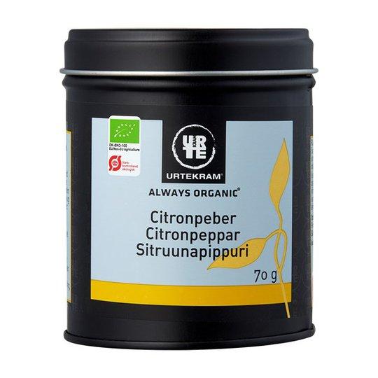 Urtekram Food Citronpeppar, 70 g