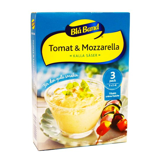 Kall Tomat- & Mozarellasås 3-pack - 69% rabatt