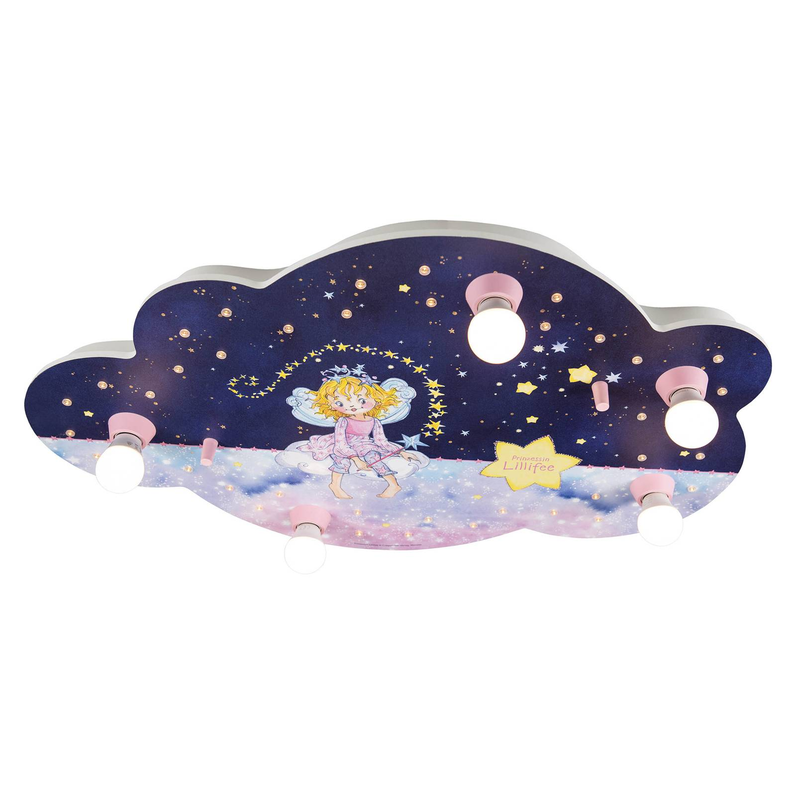 Kattovalaisin Lillifee, pilvi, tähtitaikoja