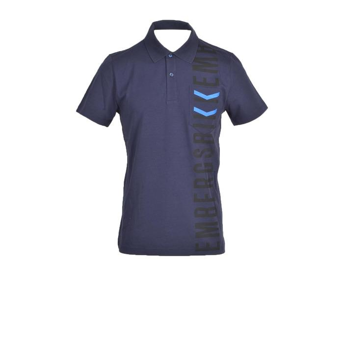 Bikkembergs Men's Polo Blue 322453 - blue M