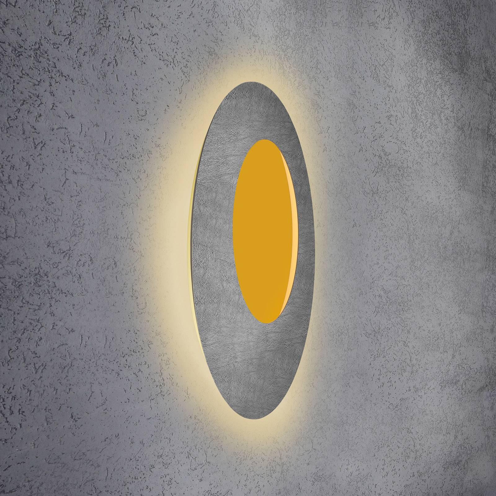 Escale Blade Open -LED-seinävalo RGB+W betoni 79cm