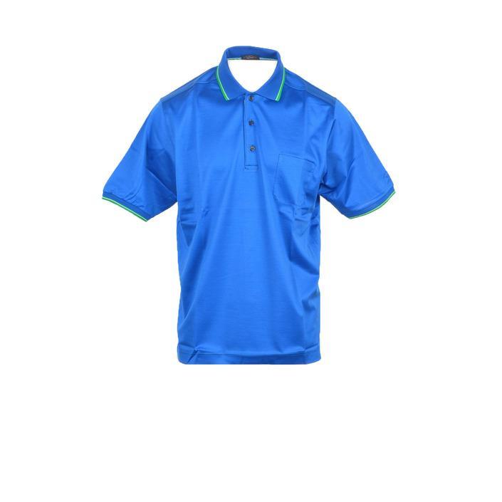 Paul&shark Men's Polo Shirt Light Blue 212448 - light blue XL