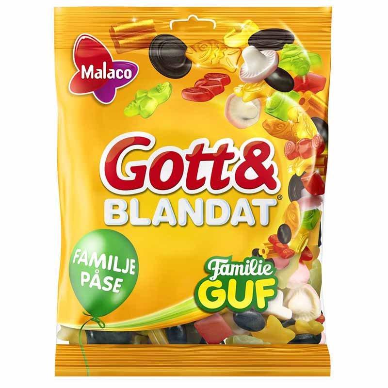 Gott & blandat Familie Guf Stor - 55% rabatt