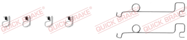 Tarvikesarja, jarrupala QUICK BRAKE 109-0994