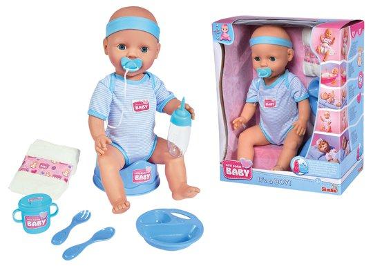 New Born Baby Dukketilbehør, Blå