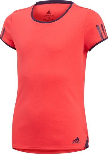 Adidas Girls Club T-Skjorte Treningstrøye, Coral 116