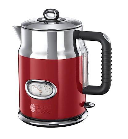 Retro Vannkoker 1,7 liter, Rød