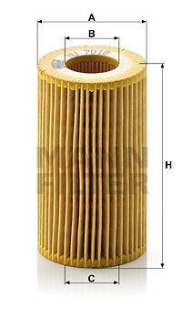 Öljynsuodatin MANN-FILTER HU 7010 z
