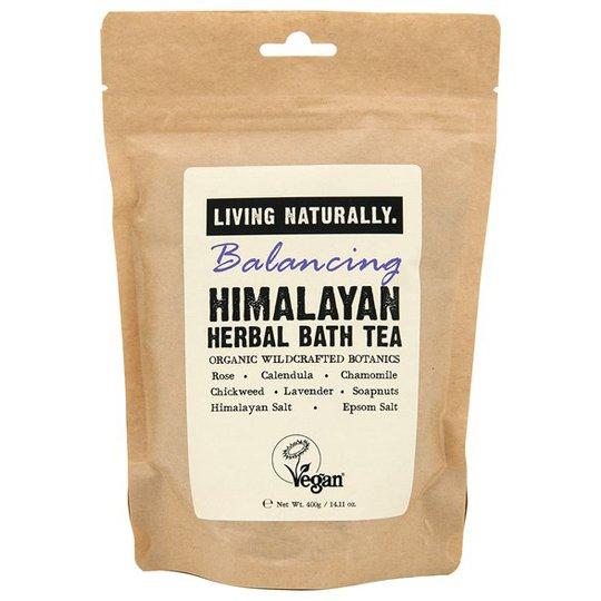 Living Naturally Balancing Himalayan Herbal Bath Tea, 400 g