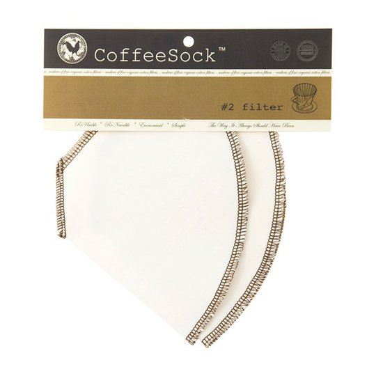CoffeeSock Ekologiskt & Återanvändbart Kaffefilter, 2-pack