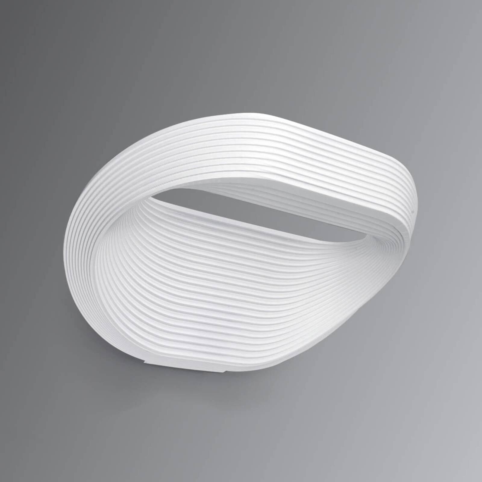 Cini&Nils Sestessa - hvit LED-vegglampe, 24 cm