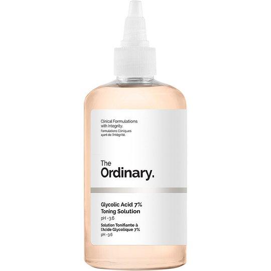 The Ordinary Glycolic Acid 7% Toning Solution, 240 ml The Ordinary Kasvovedet
