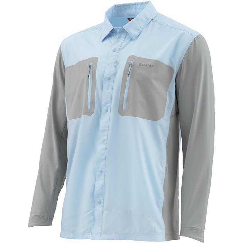 Simms Tricomp Cool Mist XL Teknisk skjorte