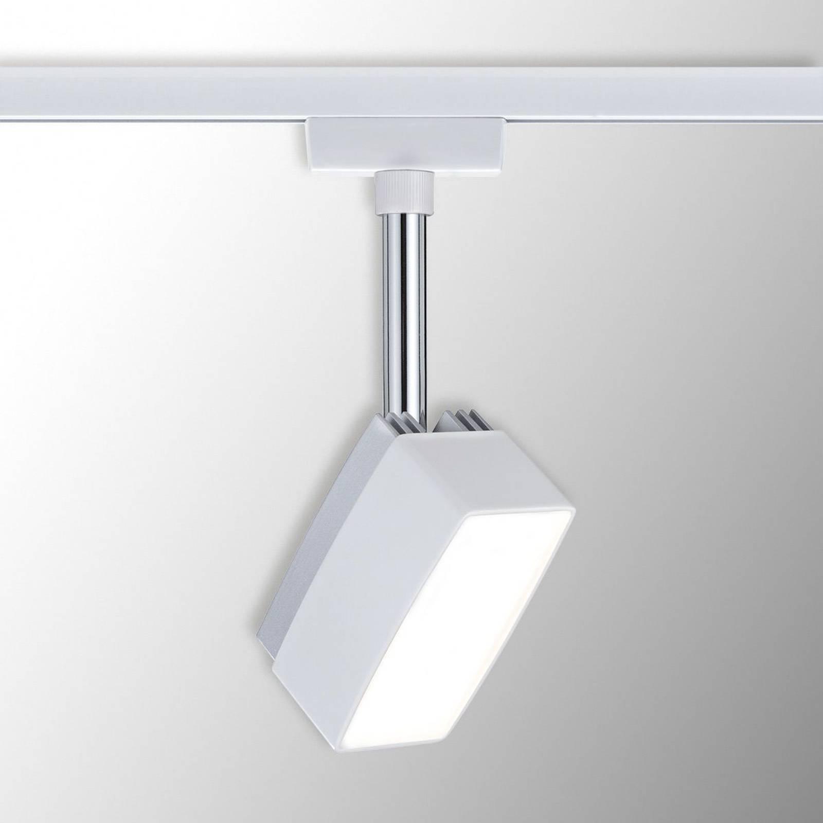 Paulmann URail Pedal -LED-spotti, valkoinen
