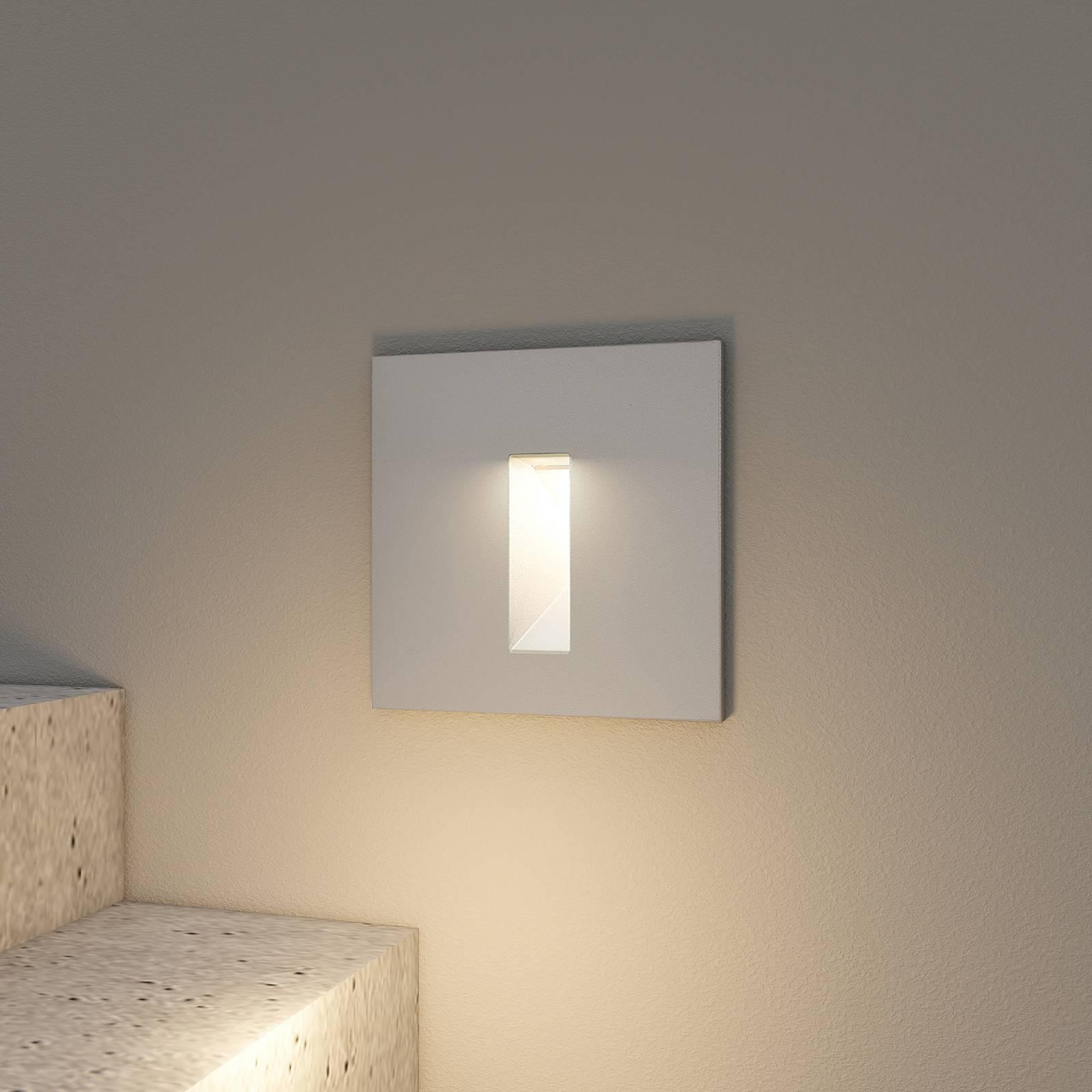 Arcchio Lanti -LED-uppovalaisin, hopea