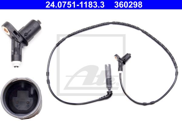 ABS-anturi ATE 24.0751-1183.3