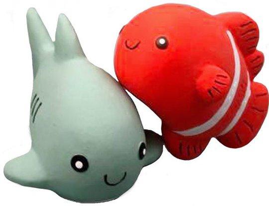 Rätt Start Badeleke 2-pack Hai & Klovnefisk