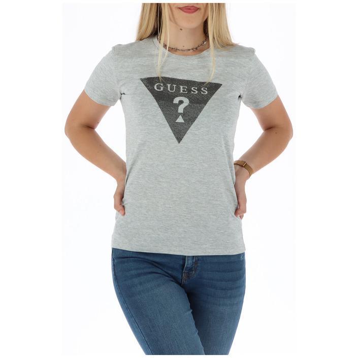 Guess Women's T-Shirt Grey 301038 - grey XS