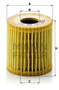 Öljynsuodatin MANN-FILTER HU 68 x