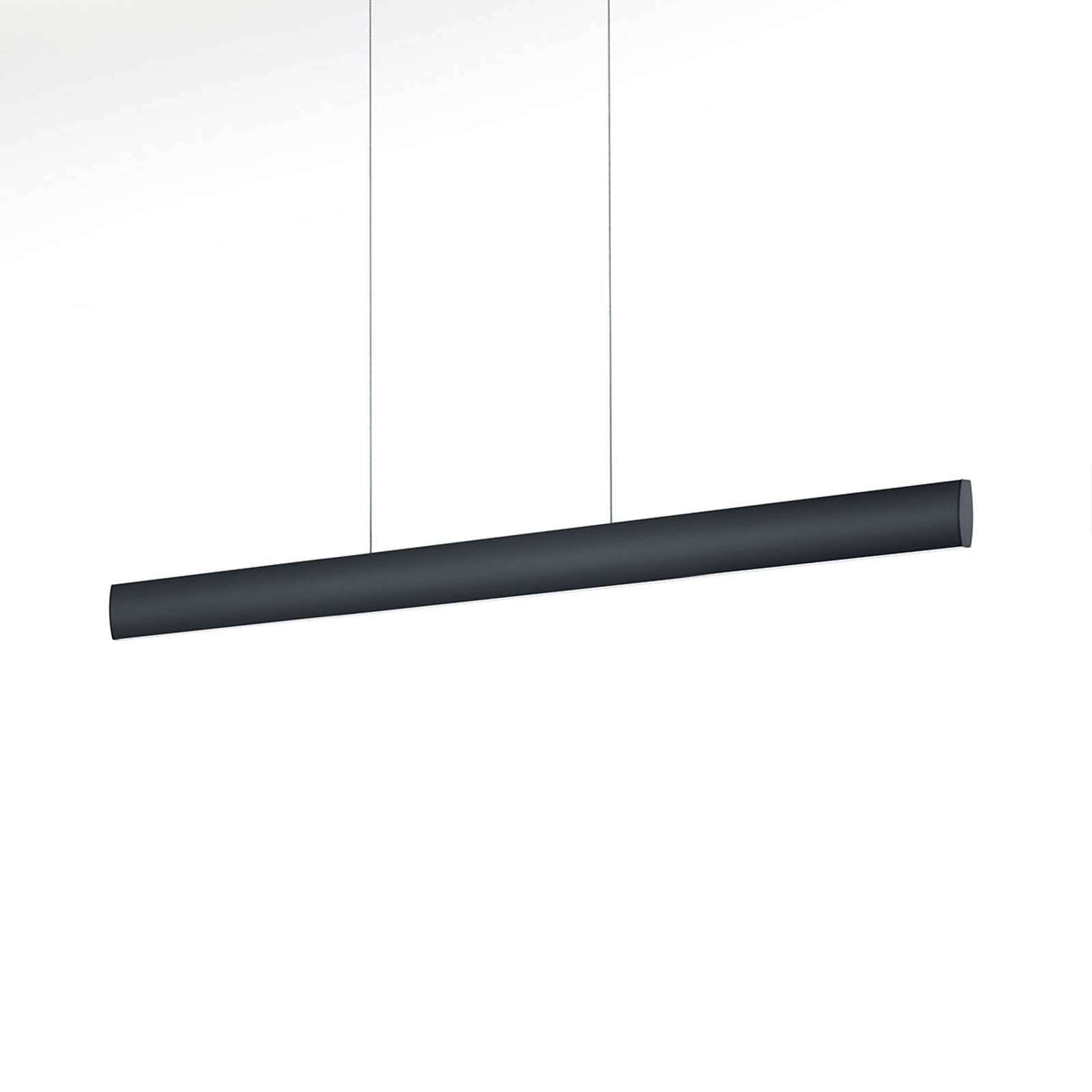 LED-riippuvalaisin Runa, musta, pituus 92 cm