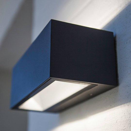 Gemini – utendørs LED-vegglampe tosidig utstråling