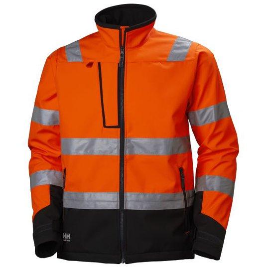 Helly Hansen Workwear Alna Softshelltakki huomioväri, oranssi/musta M