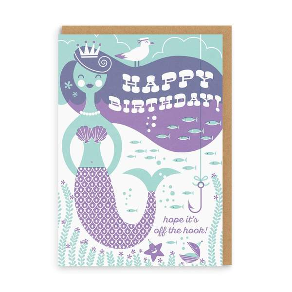 Off The Hook Birthday Greeting Card