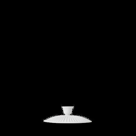 Tsè Lokk for tekanne Ø8,5 cm Hvit Porselen