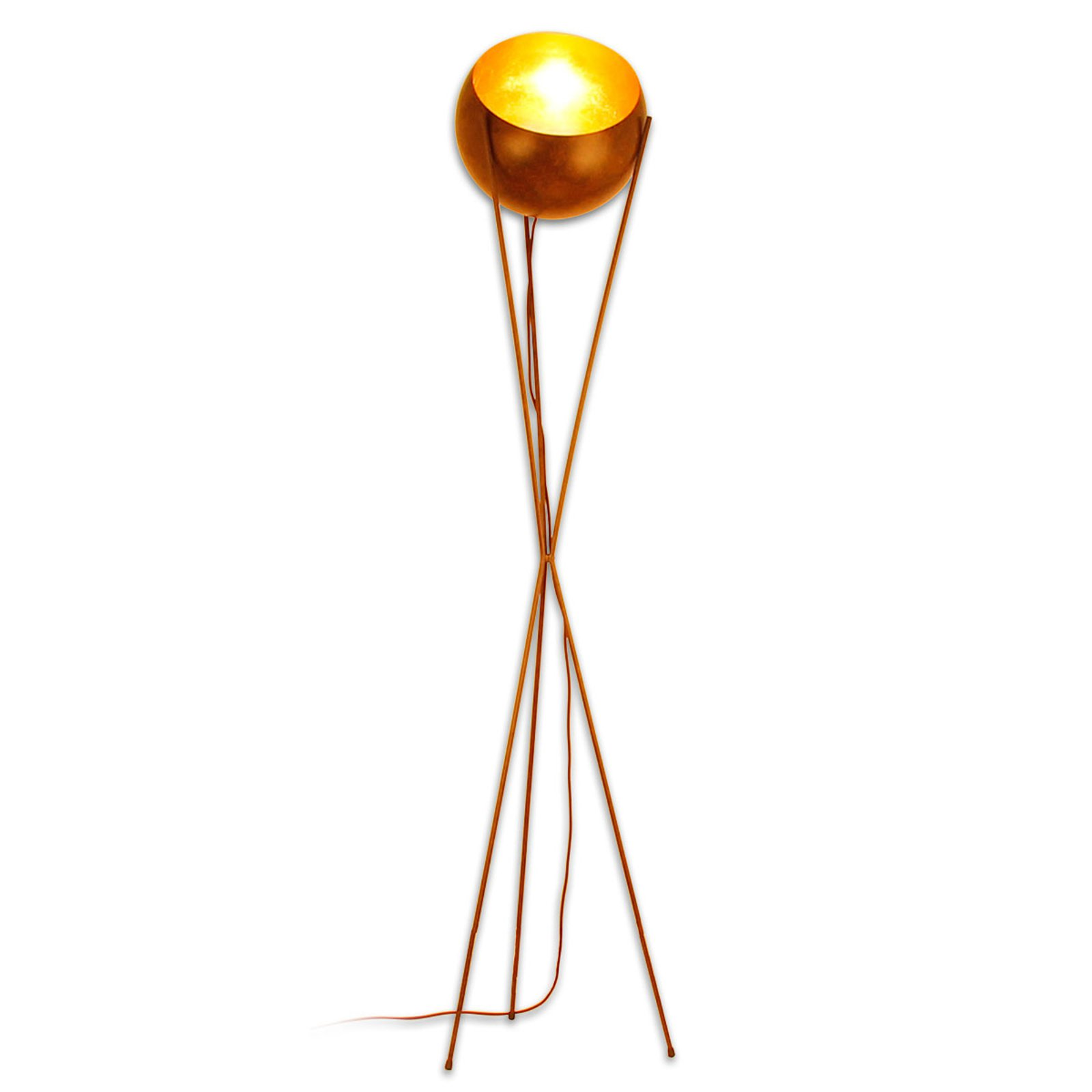Menzel Solo - trebeinet gulvlampe
