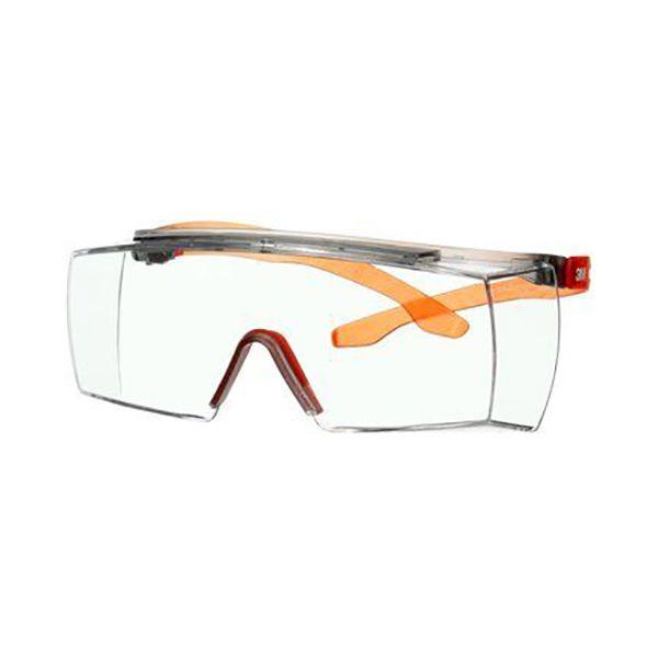 3M Secure fit 3700 Vernebriller Oransje brillestang, klar linse