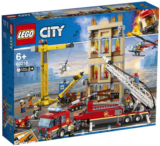 LEGO City Fire 60216 Brannkorpset I Sentrum