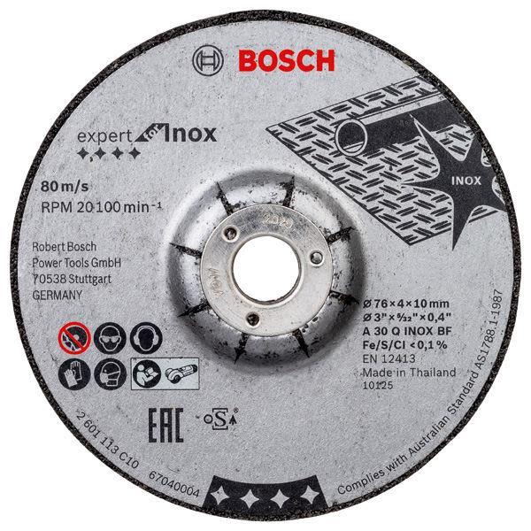 Bosch Expert for INOX Slipeskive 2-pakning