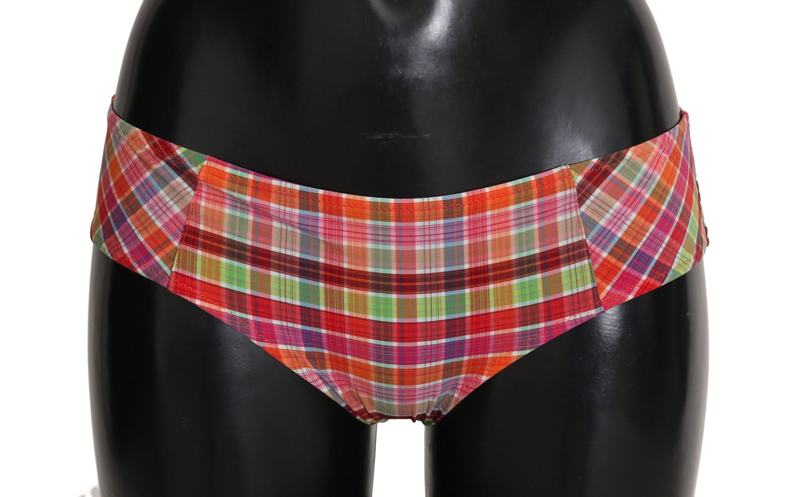 Dolce & Gabbana Women's Print Bottom Bikini Underwear Multicolor BIK147 - IT2   S