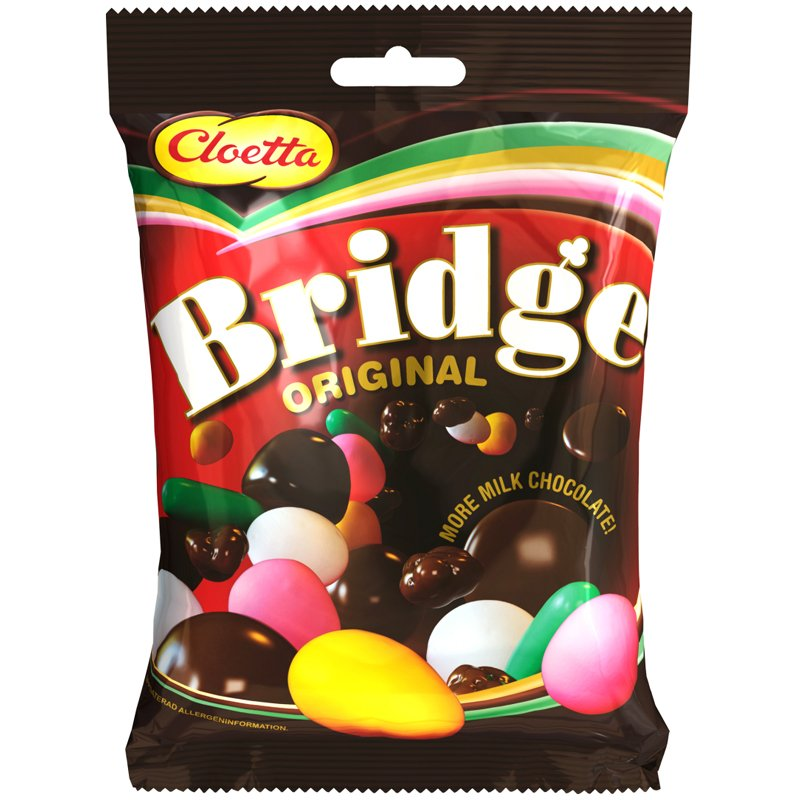 """Godis """"Bridge"""" 360g - 43% rabatt"""