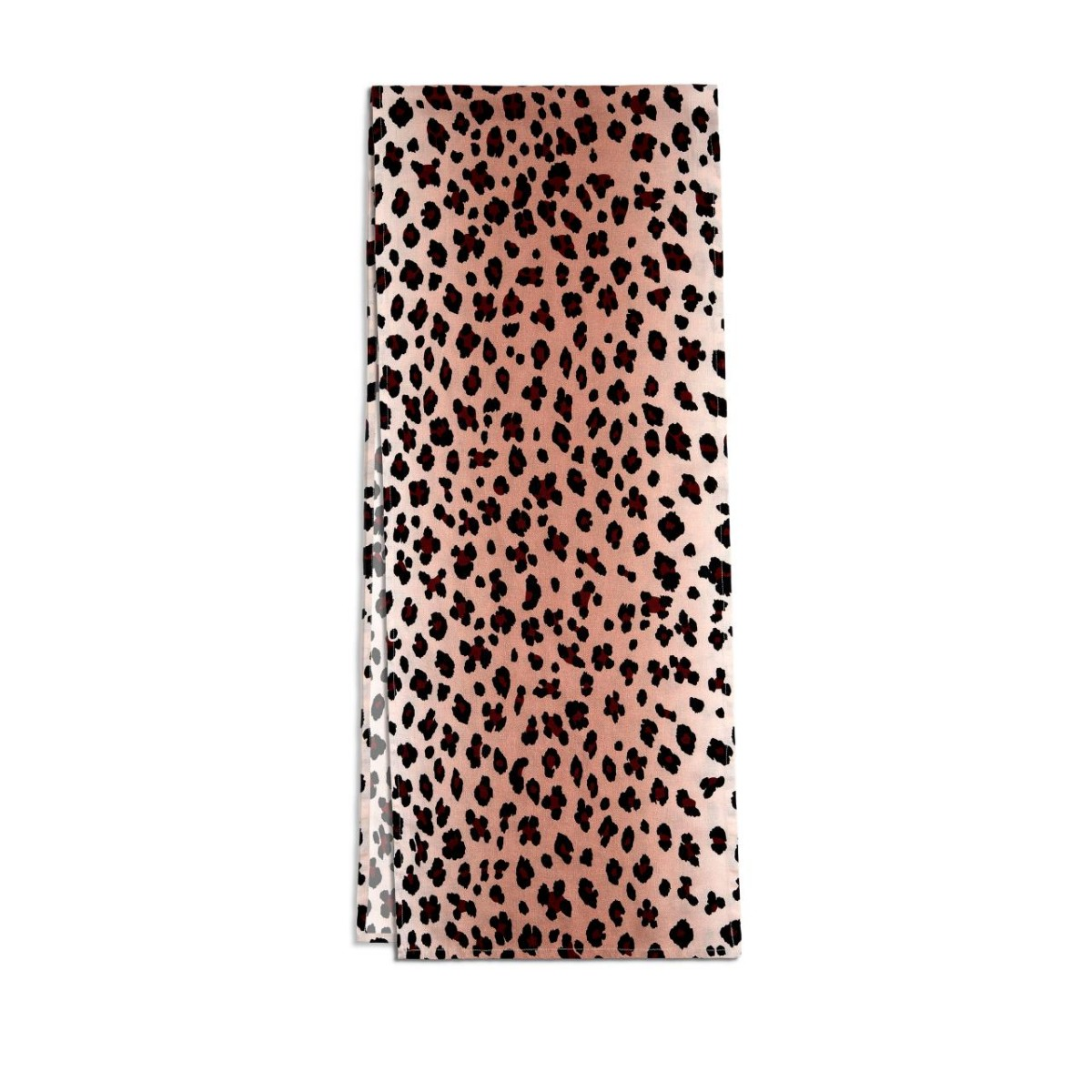 L'Objet I Linen Sateen Runner Leopard - Pink
