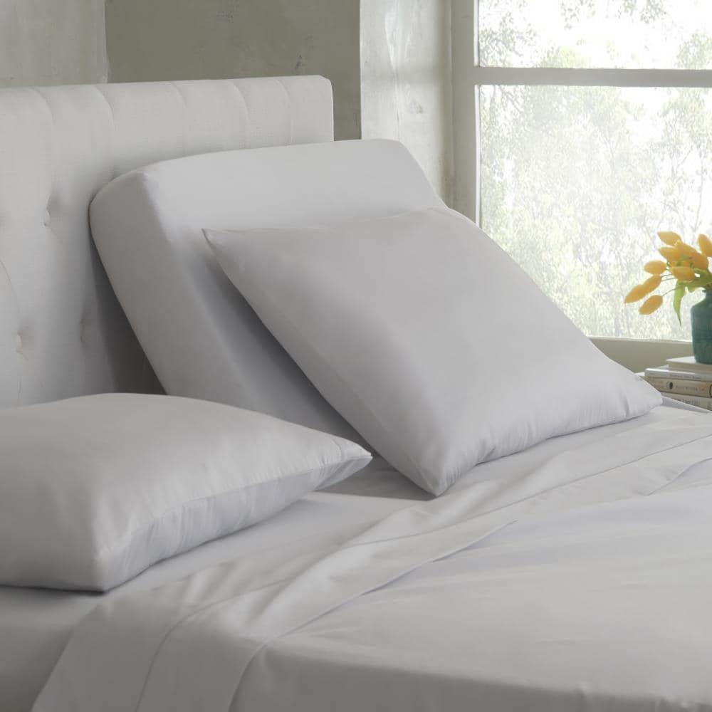 WestPoint Home Martex Split King Sheet King Cotton Blend Bed Sheet in Gray | 028828347268