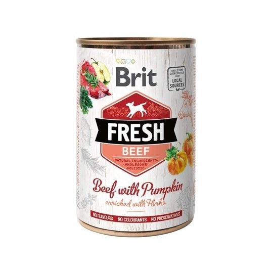 Brit Fresh Cans Beef with Pumpkin